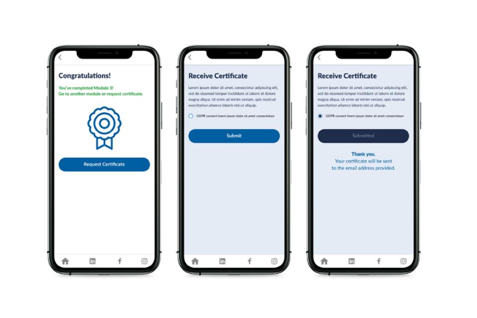 examination app feature